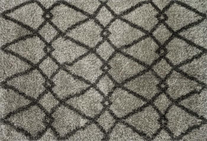 Loloi Cosma HCO01 Grey / Charcoal Rug