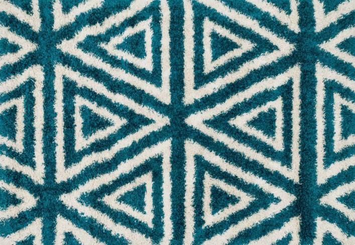 Loloi Cosma HCO02 Blue / Ivory Rug