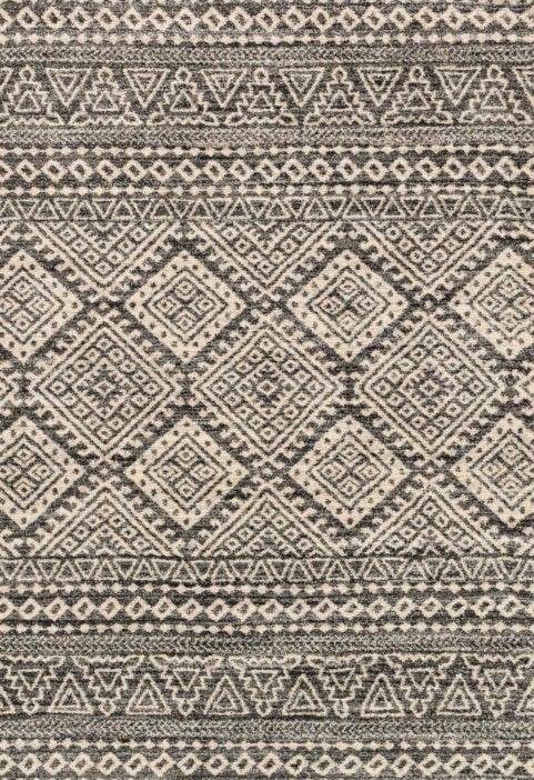 Loloi Emory EB-08 Graphite / Ivory Rug