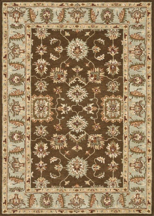 Loloi Fairfield HFF05 Brown / Turquoise Rug