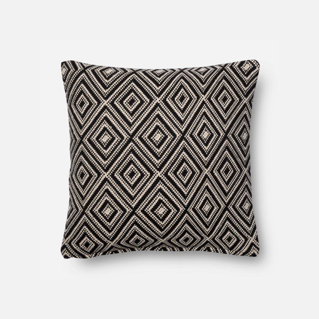 Magnolia Home P1010 Black / White Pillow