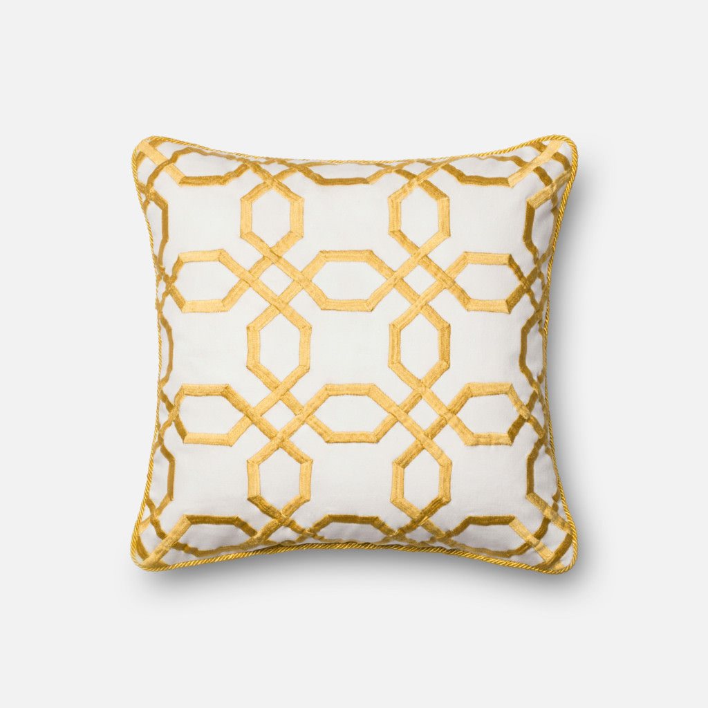 Loloi POLY SET P0130 Yellow / White Rug