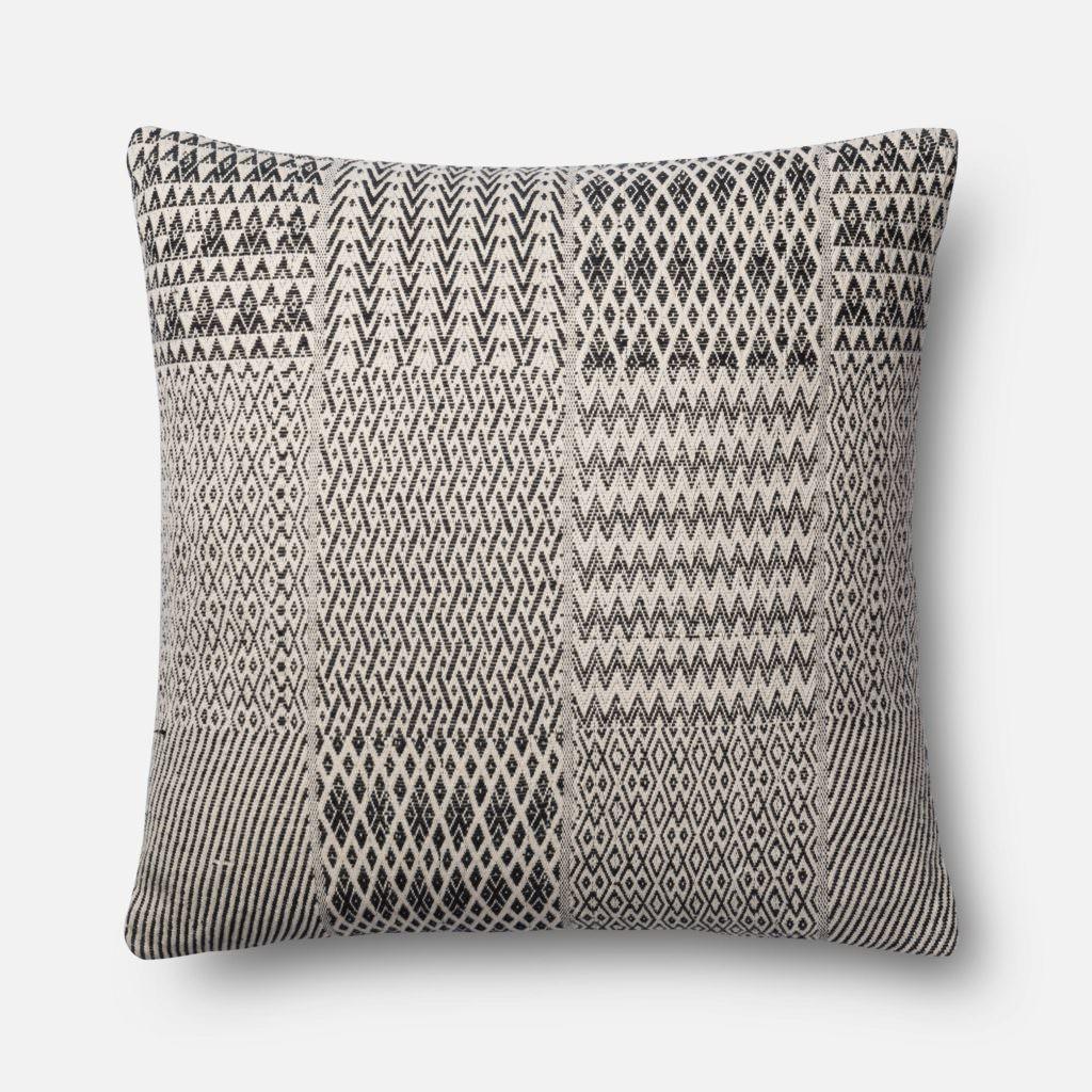Magnolia Home P1016 Black / White Pillow