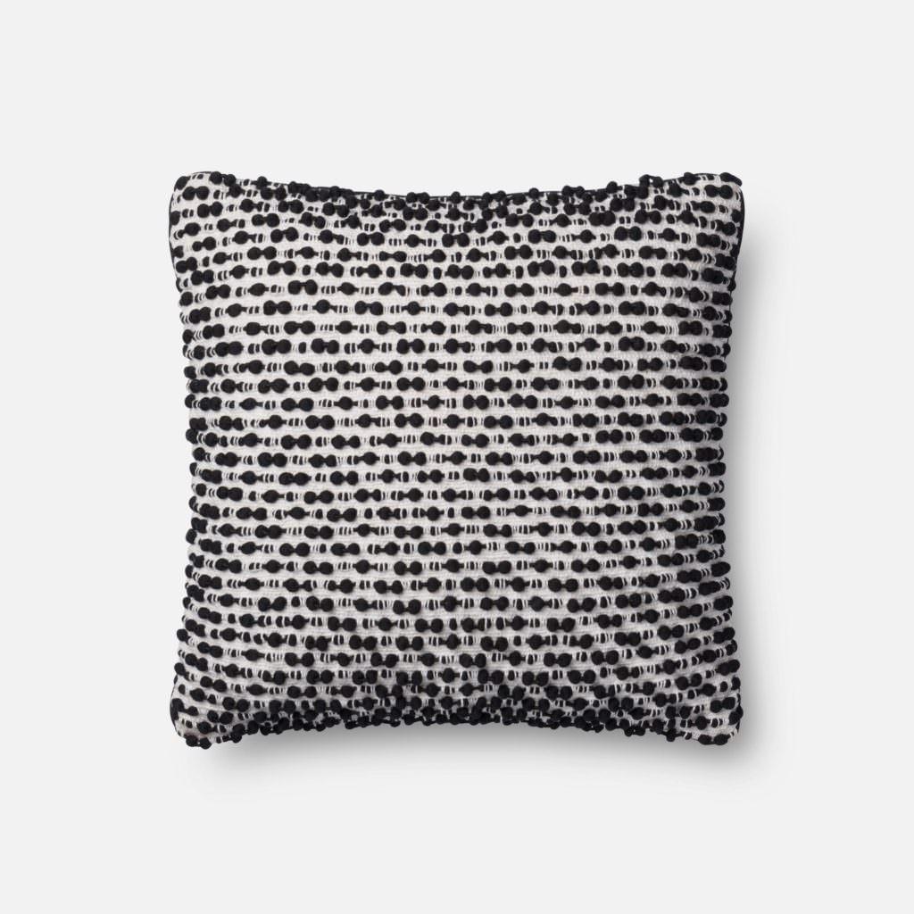 Magnolia Home P1018 White / Black Pillow