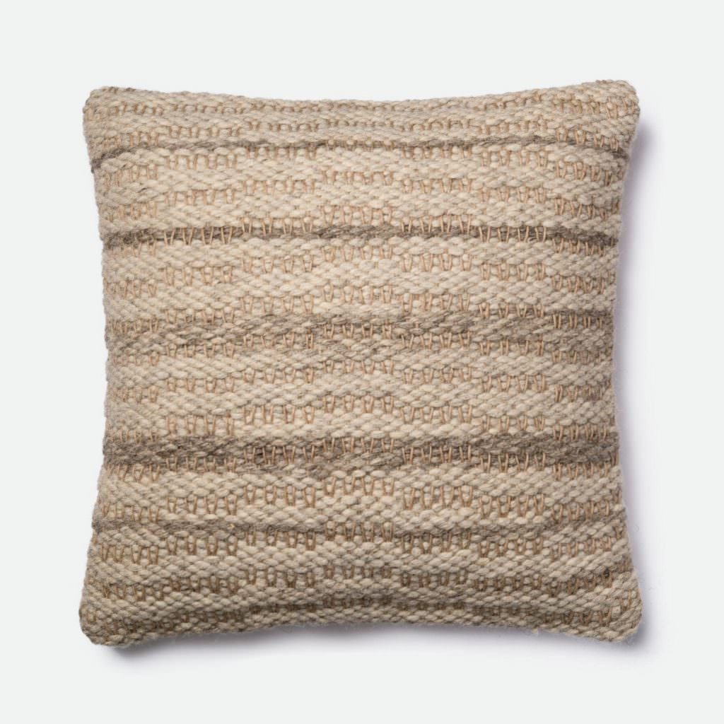 Magnolia Home P1001 Grey / Ivory Pillow