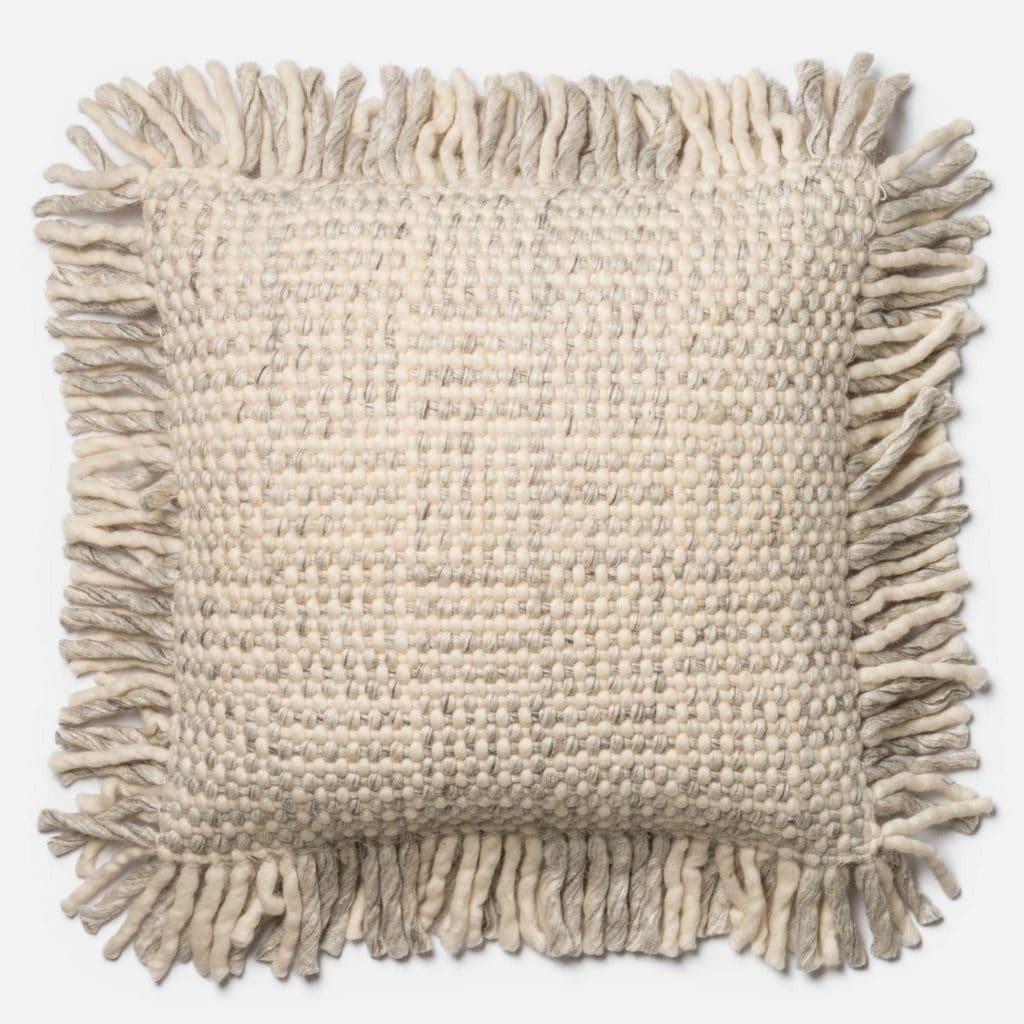 Magnolia Home P0456 Grey / Ivory Pillow
