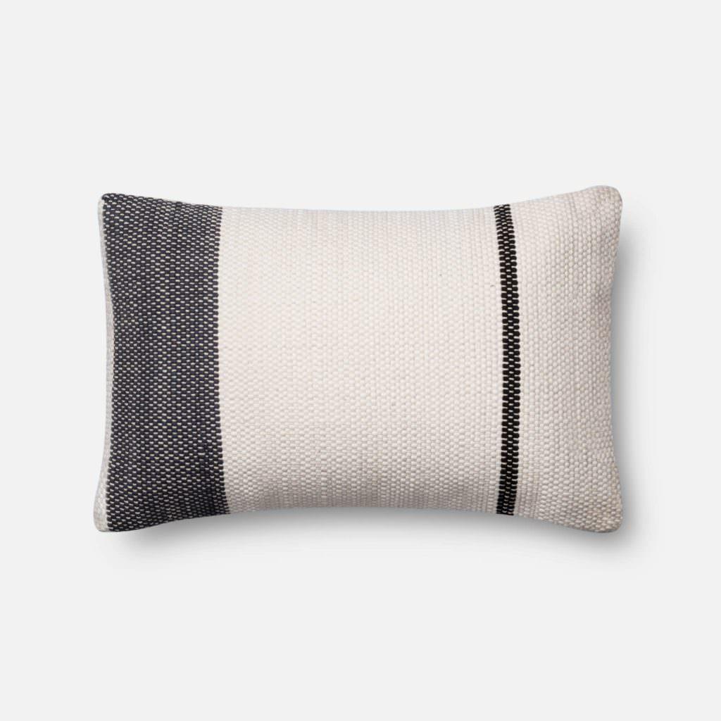 Magnolia Home P1002 Navy / White Pillow