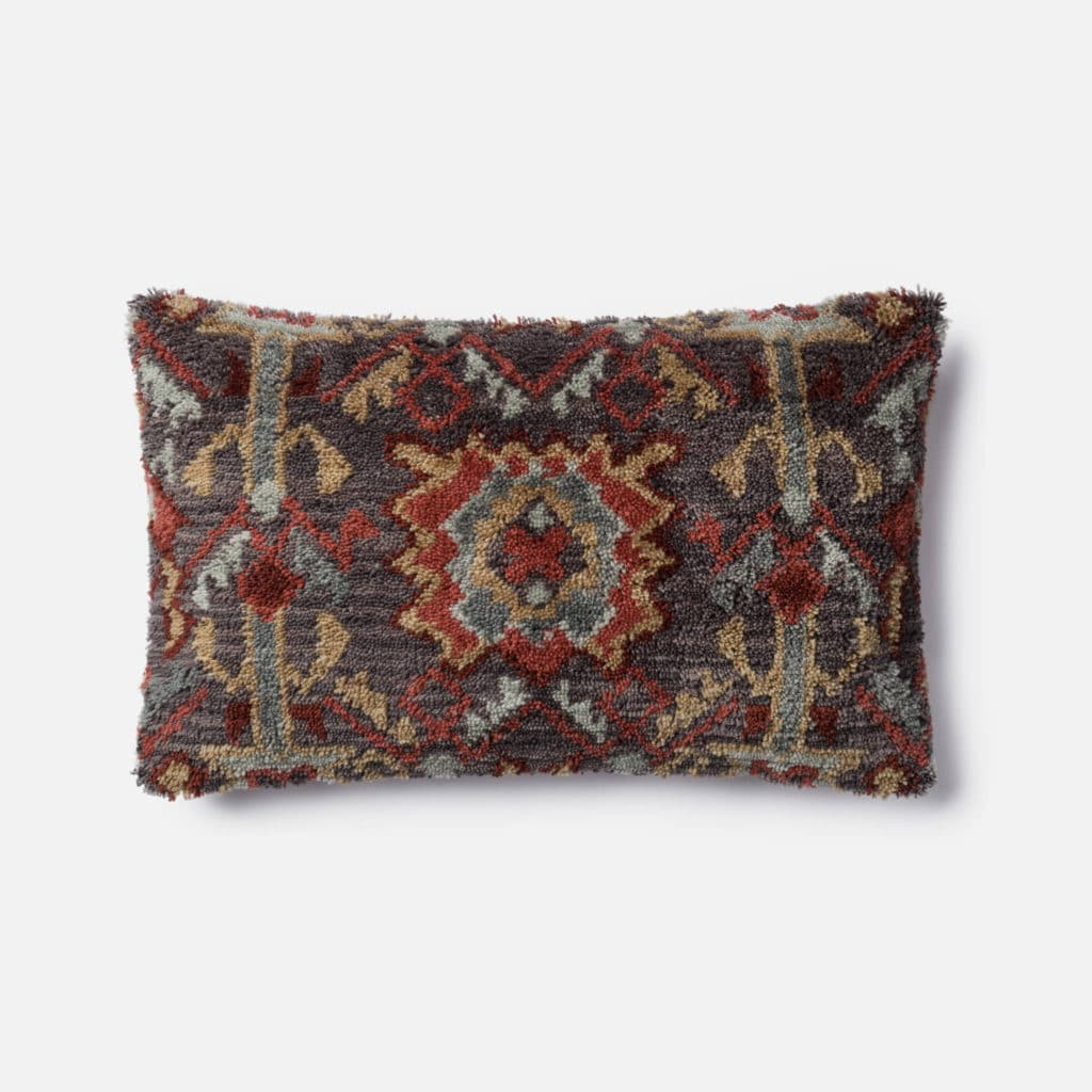 Loloi POLY SET P0464 Brown / Red Rug
