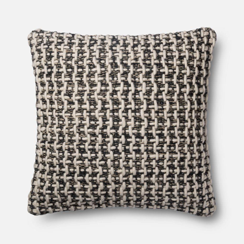 Magnolia Home P1017 Black / White Pillow