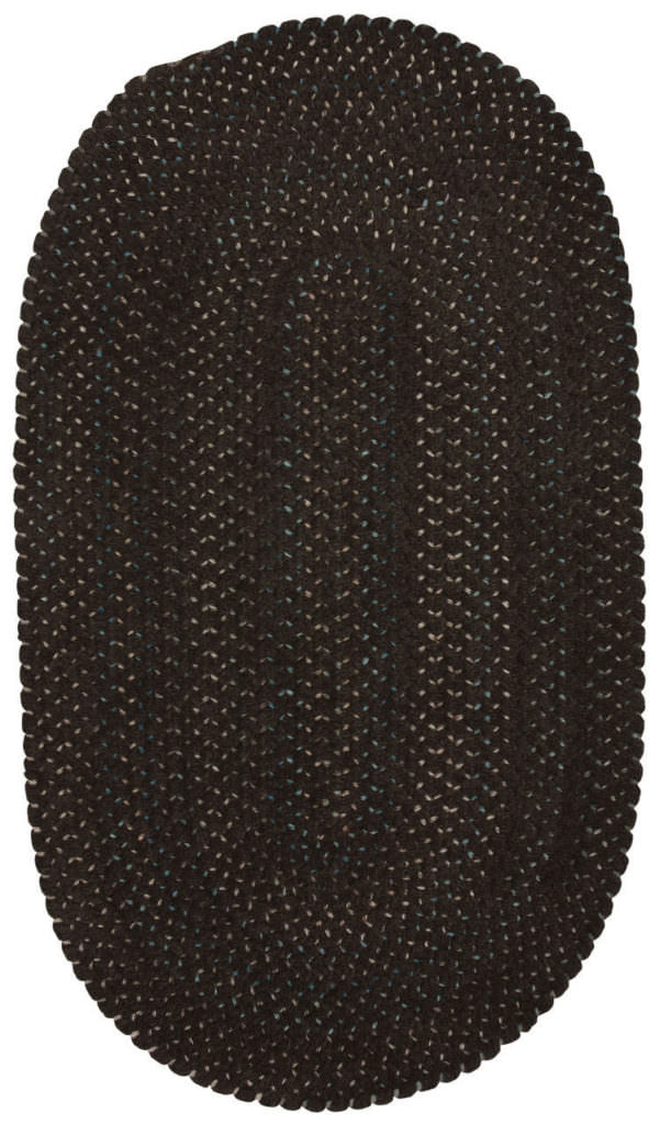 Capel Dramatic Static 775 Eminent Brown Braided Rug