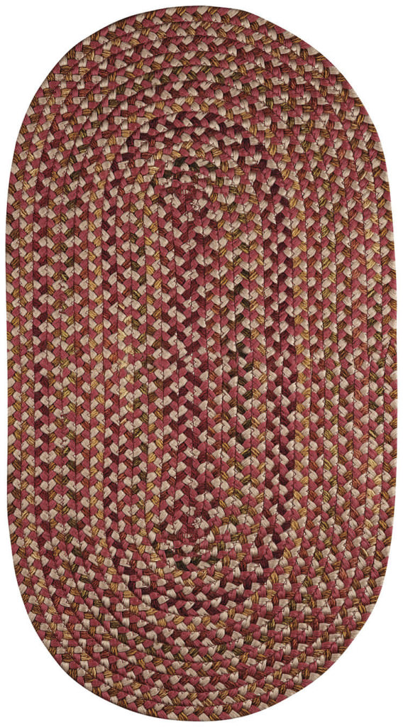 Capel Nu-Way 500 Red Braided Rug