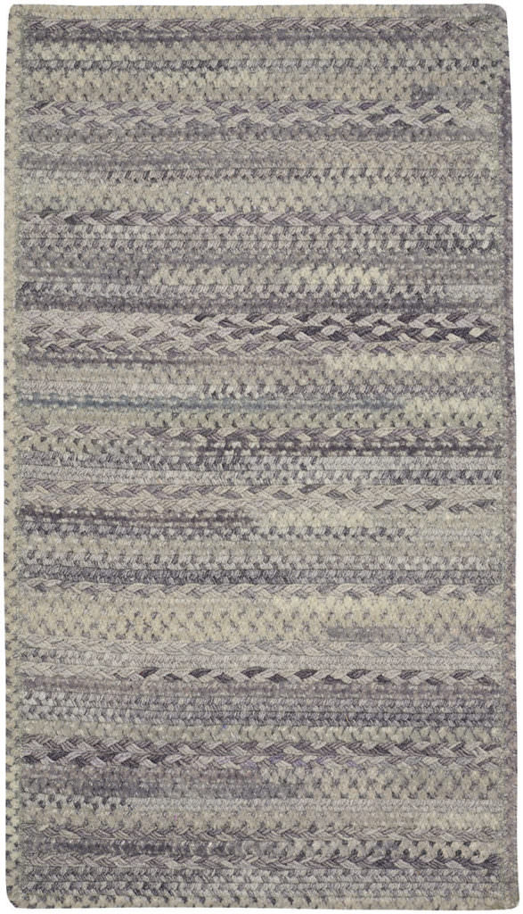 Capel Bayview 340 Granite Braided Rug