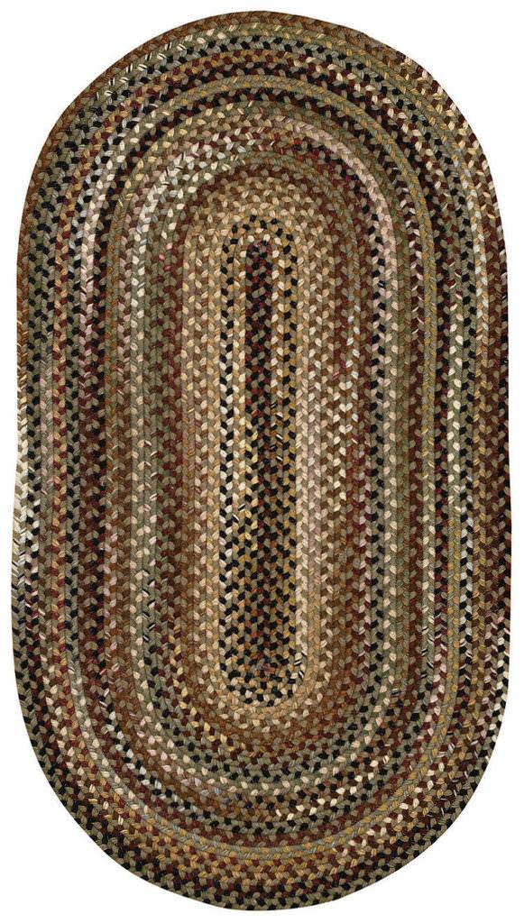 Capel Gramercy 200 Sage Braided Rug