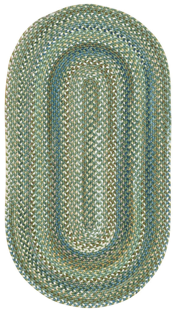 Capel American Legacy 280 Pine Forest Braided Rug