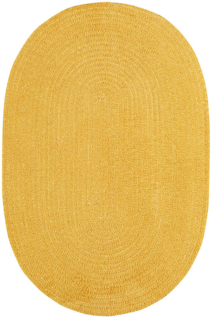 Capel Chenille Creations 130 Maize Braided Rug