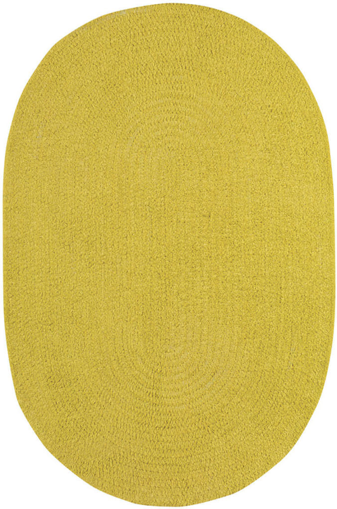 Capel Chenille Creations 230 Citron Braided Rug
