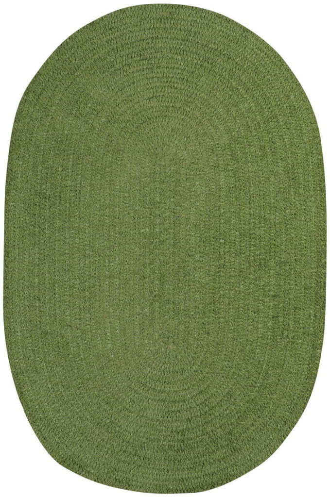 Capel Chenille Creations 270 Moss Braided Rug