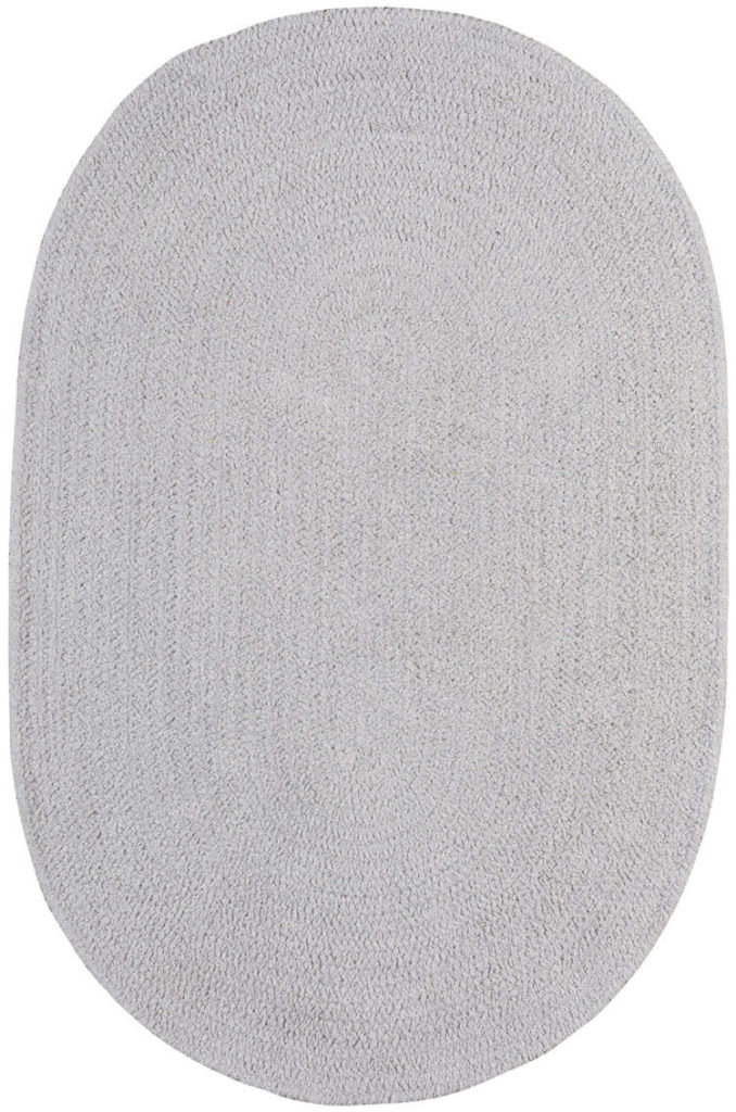 Capel Chenille Creations 300 Lunar Grey Braided Rug