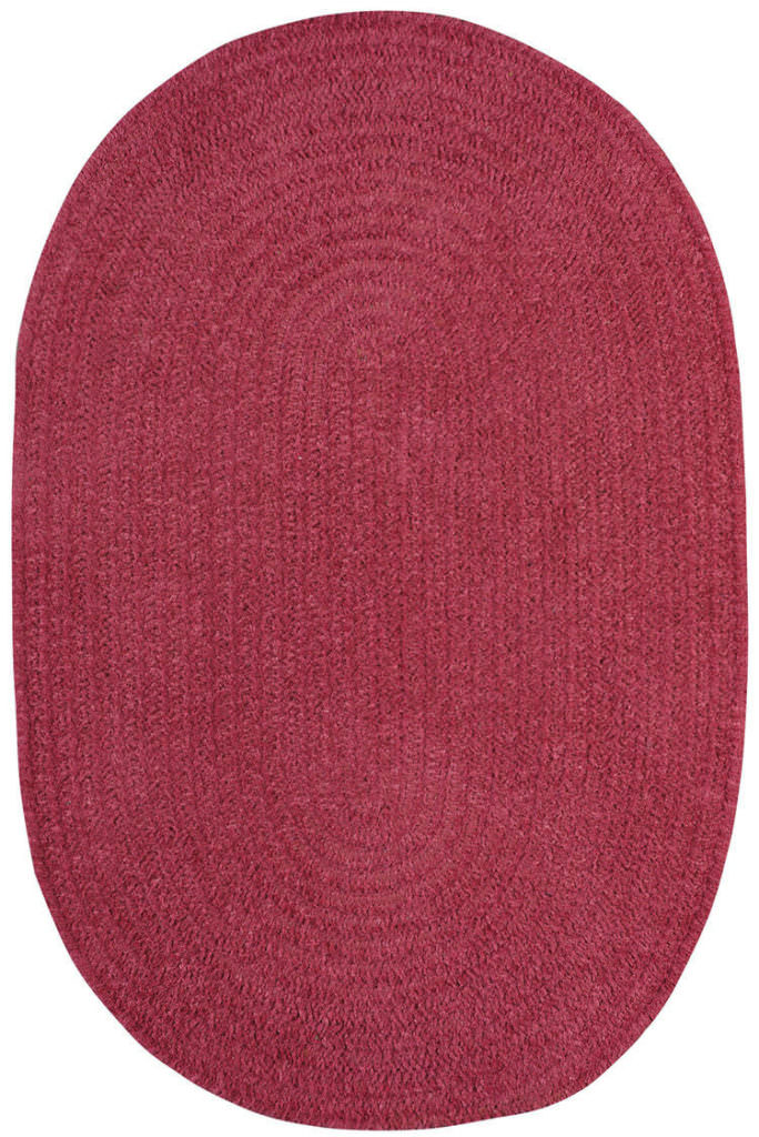 Capel Chenille Creations 540 Fuschia Braided Rug
