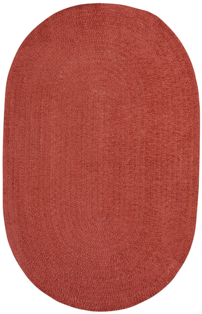 Capel Chenille Creations 575 Marsala Braided Rug