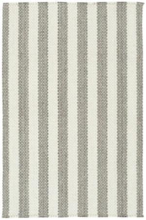Capel Hampton 360 Ash Stripe Braided Rug