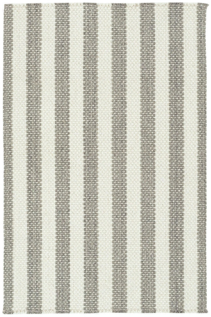 Capel Hampton 360 Ash Stripe Braided Rug