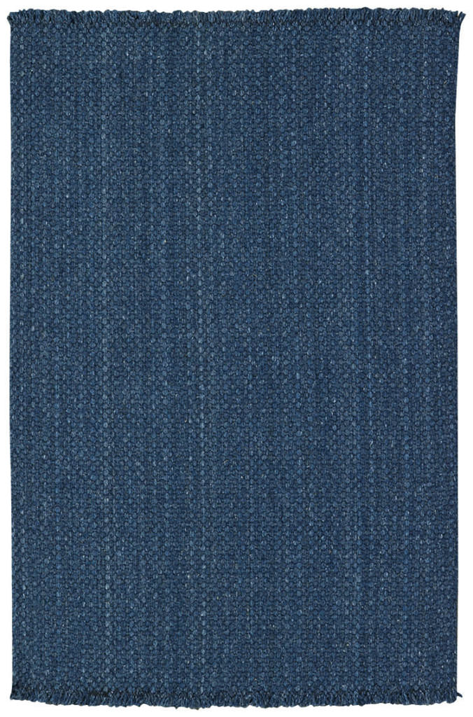 Capel Hampton 400 Denim Blue Braided Rug