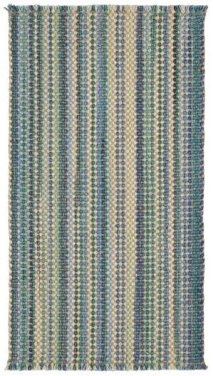 Capel Hampton 425 Seaglass Blue Braided Rug