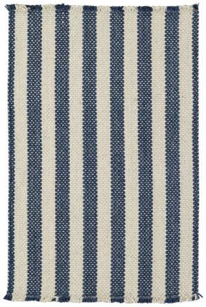 Capel Hampton 460 Denim Stripe Braided Rug