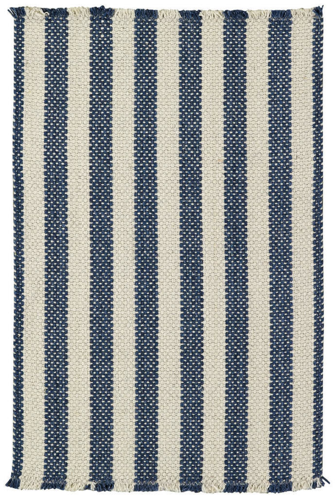 Capel Hampton 460 Denim Stripe Braided Rug