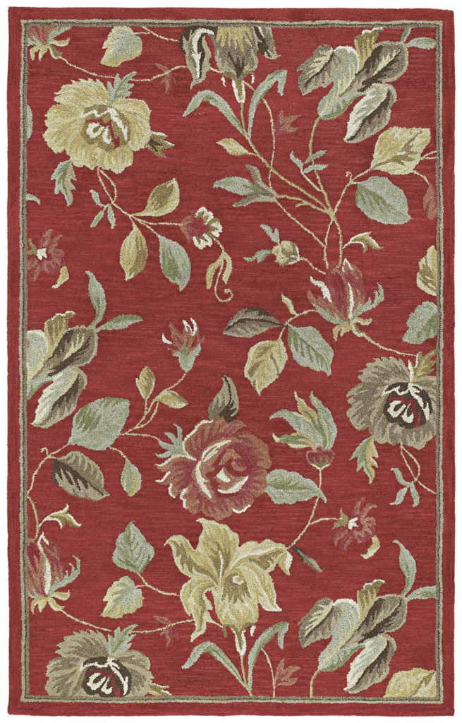 Kaleen Khazana Savannah-57 Red Rug