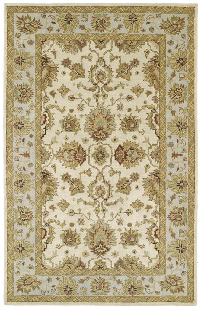 Kaleen Heirloom Heather-02 Ivory Rug
