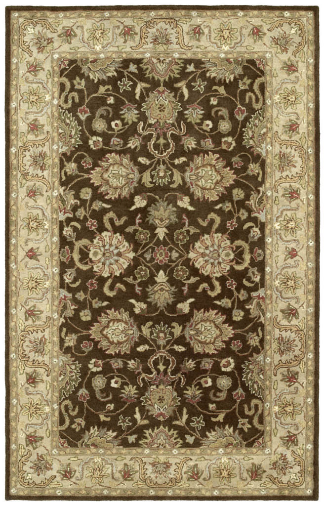 Kaleen Heirloom Melanie-04 Brown Rug
