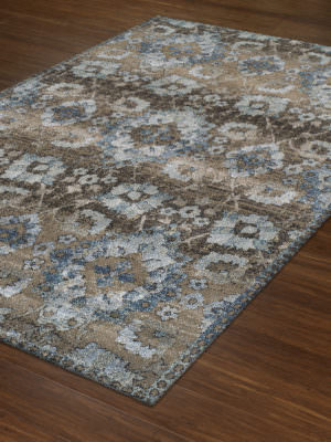 Dalyn Antigua AN5 Mocha Rug Floor View