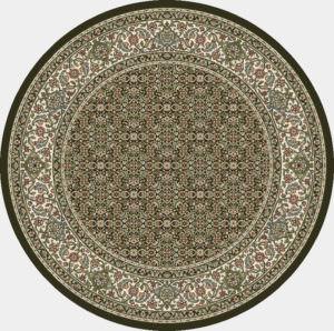 """Dynamic Ancient Garden 7'-10"""" x 7'-10"""" Round 57011-3263 Cream / Grey Rug"""