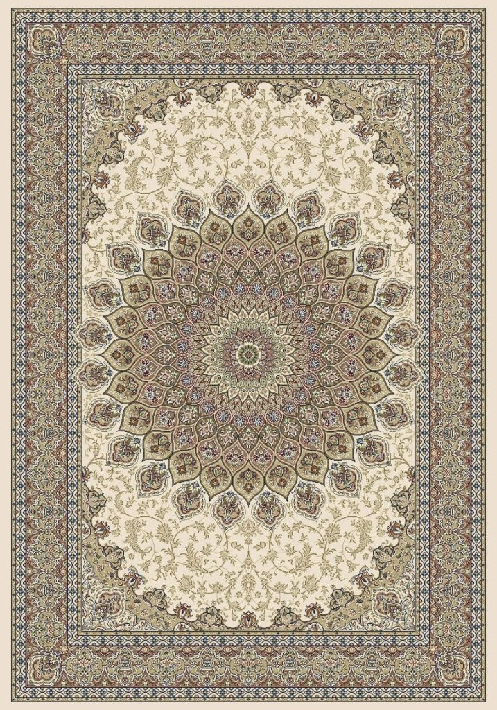 "Dynamic Ancient Garden 9'-2"" x 12'-10"" 57090-6484 Ivory Rug"
