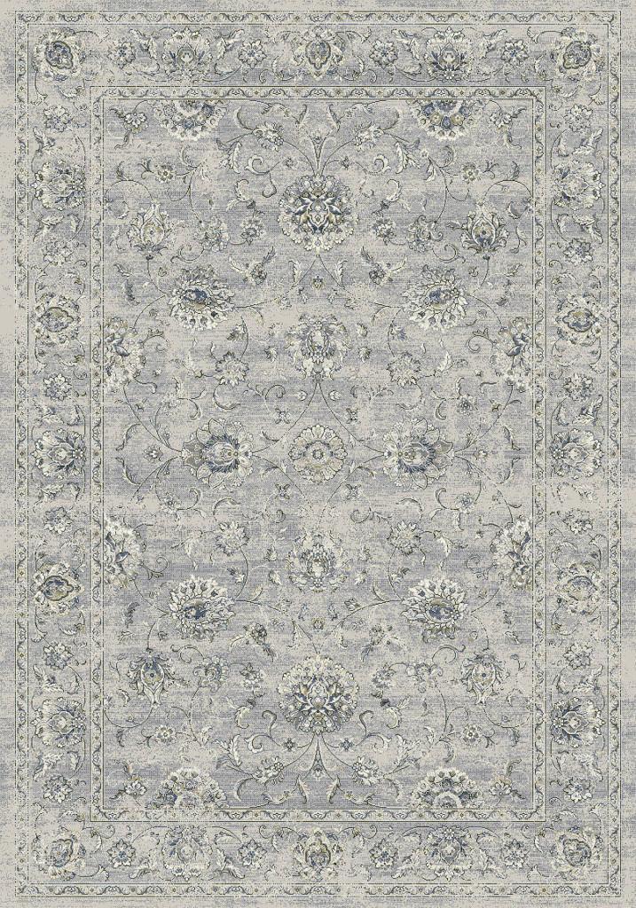 """Dynamic Ancient Garden 9'-2"""" x 12'-10"""" 57126-9696 Silver / Grey Rug"""