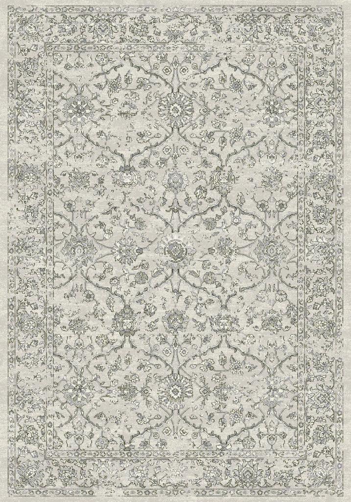 """Dynamic Ancient Garden 9'-2"""" x 12'-10"""" 57136-9696 Silver / Grey Rug"""