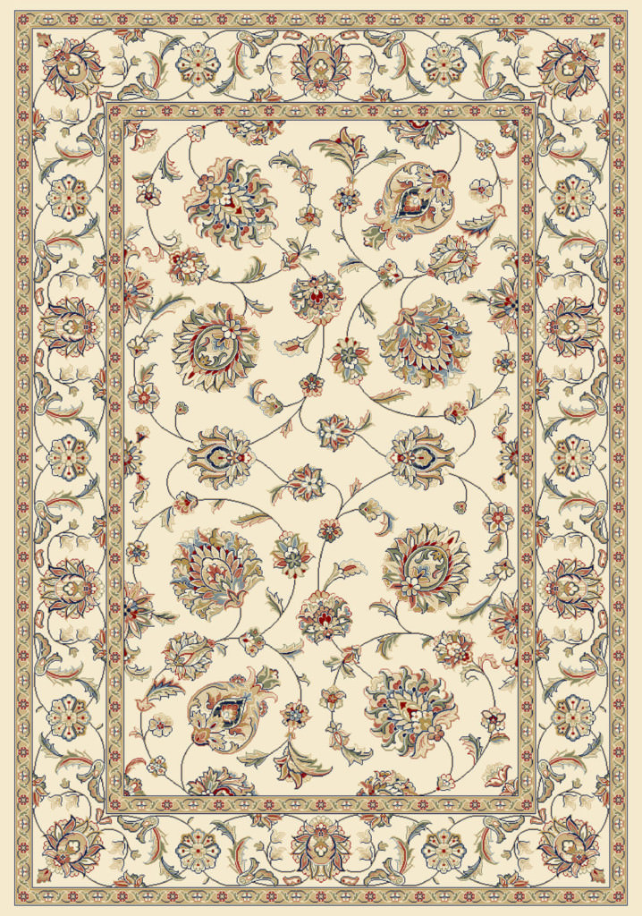 "Dynamic Ancient Garden 9'-2"" x 12'-10"" 57365-6464 Ivory Rug"