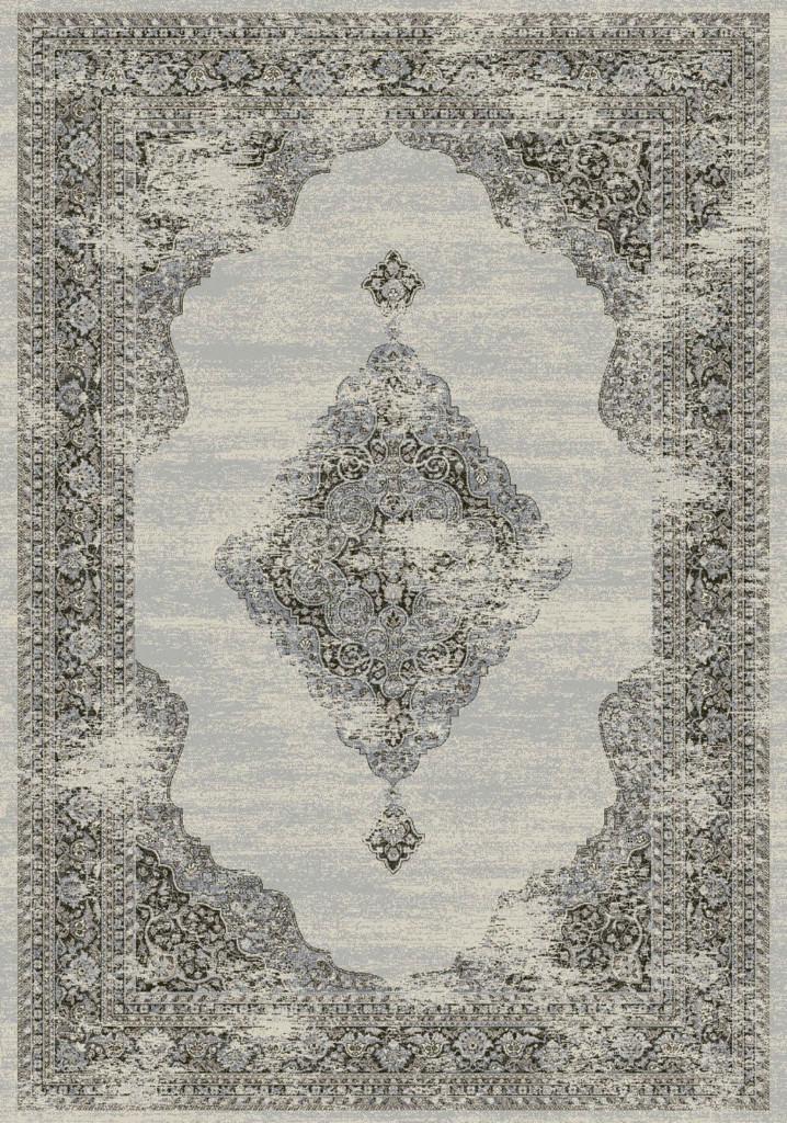 """Dynamic Ancient Garden 9'-2"""" x 12'-10"""" 57557-9696 Soft Grey / Cream Rug"""