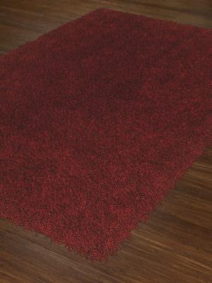 Dalyn Belize BZ100 Red Rug Floor View