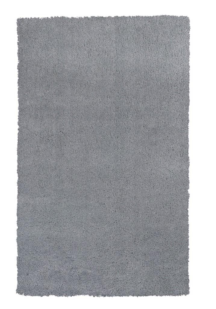 """KAS Bliss 1557 Grey Shag 3'-3"""" x 5'-3"""" Rug"""