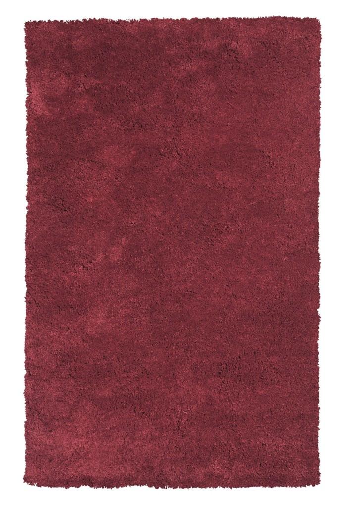 "KAS Bliss 1564 Red Shag 27"" X 45"" Rug"