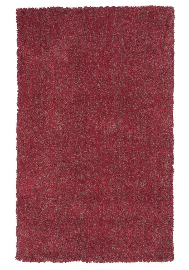 "KAS Bliss 1584 Red Heather Shag 27"" X 45"" Rug"
