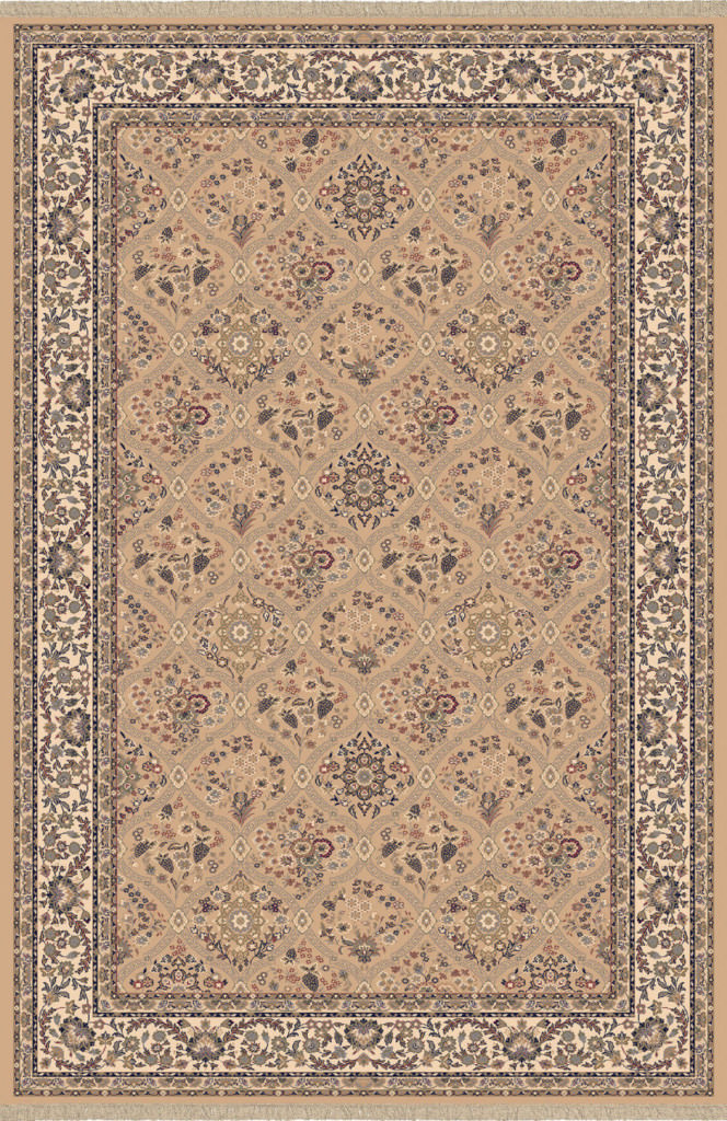 "Dynamic Brilliant 7'-10"" x 11'-2"" 7211-820 Linen Rug"