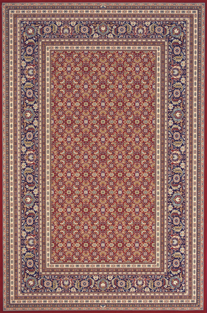 "Dynamic Brilliant 9'-10"" x 13'-1"" 72240-330 Red Rug"