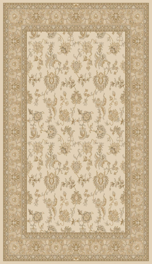 "Dynamic Brilliant 9'-10"" x 13'-1"" 7226-121 Ivory Rug"