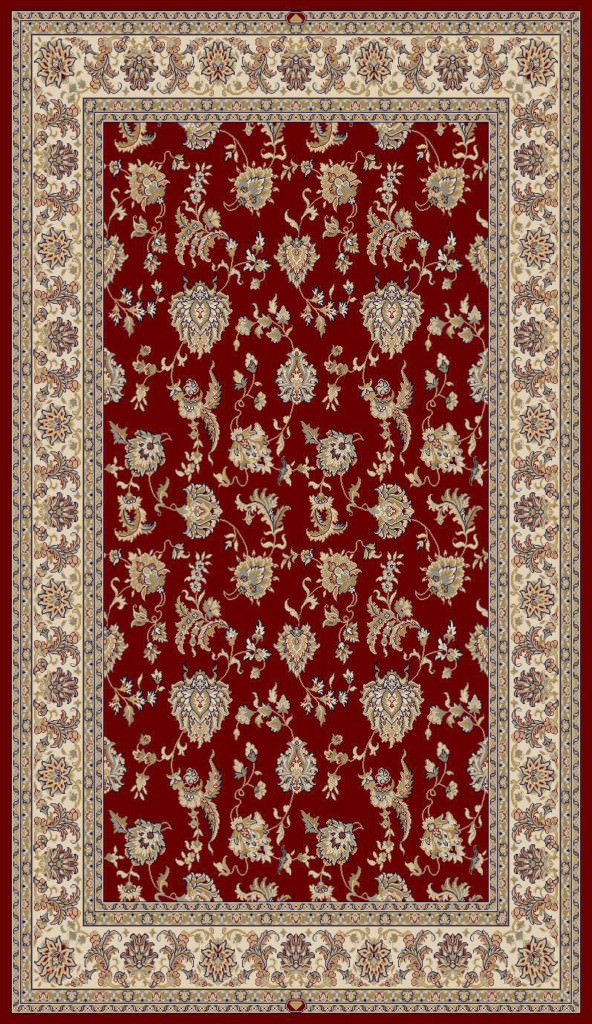 "Dynamic Brilliant 9'-10"" x 13'-1"" 7226-330 Red Rug"