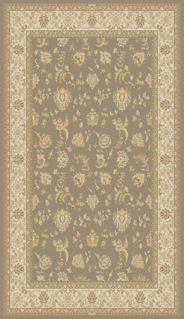 "Dynamic Brilliant 9'-10"" x 13'-1"" 7226-620 Brown Rug"