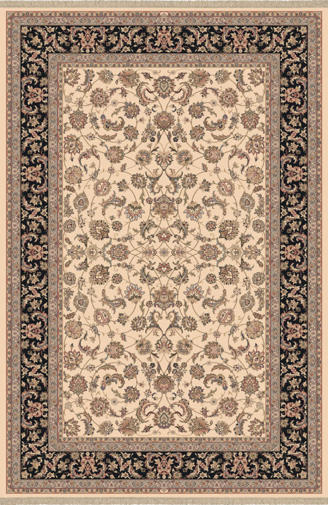 "Dynamic Brilliant 7'-10"" x 11'-2"" 72284-191 Ivory Rug"